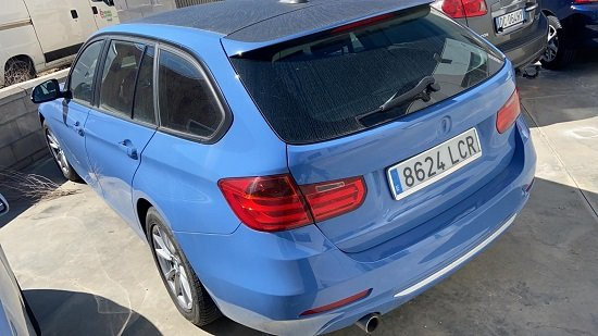 BMW 318D SW 2014 3
